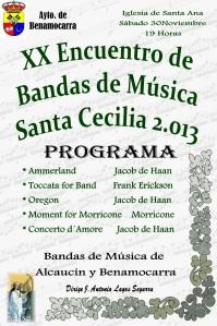 Programa Sta Cecilia 13