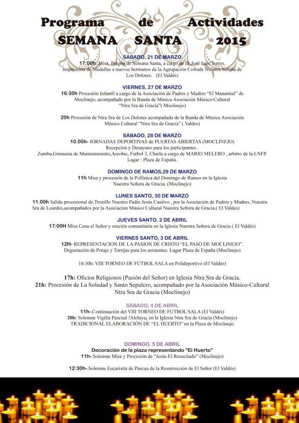Programa Semana Santa 2015.indd